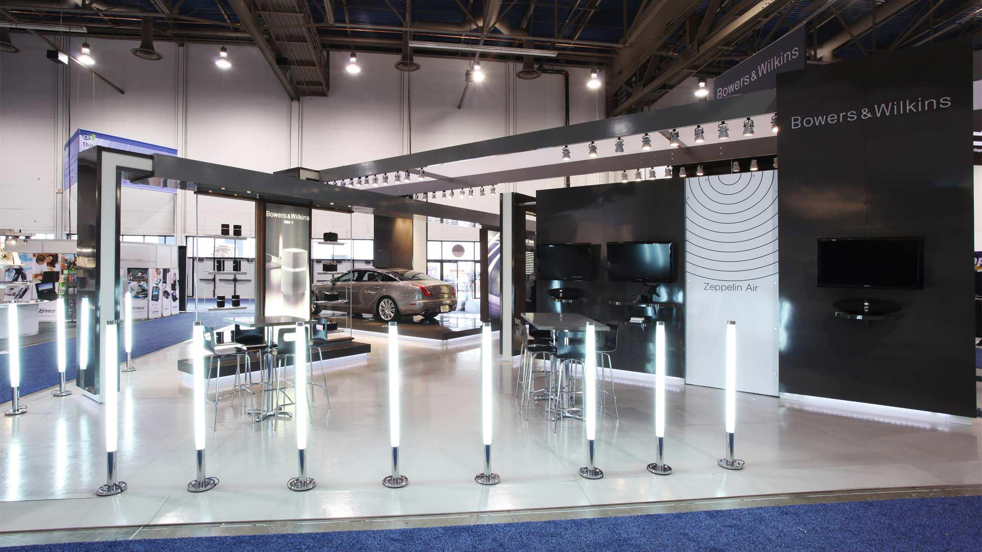 Types Of Exhibition Stand Design : Bowers wilkins ces las vegas thomas manss company
