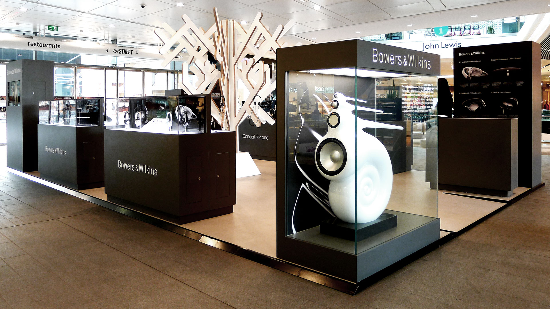 bowers wilkins at westfield thomas manss company. Black Bedroom Furniture Sets. Home Design Ideas