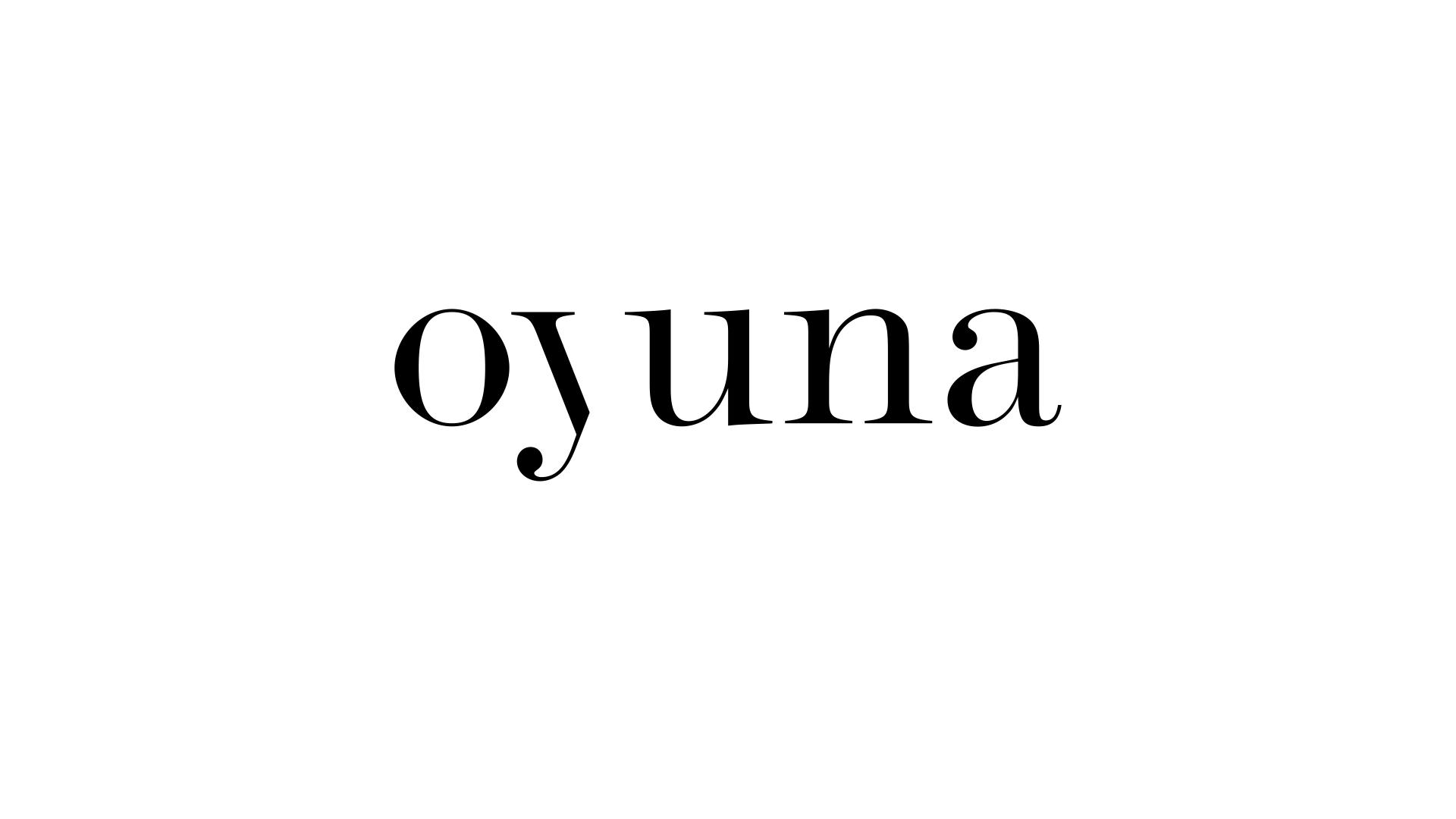 oyuna cashmere logotype